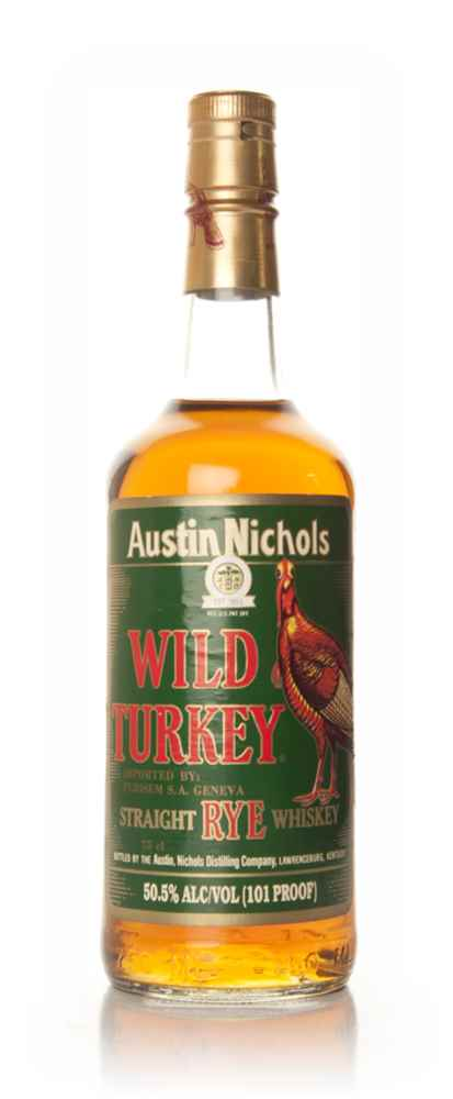 Wild Turkey Kentucky Rye - 1996