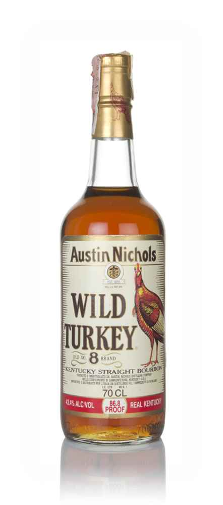 Wild Turkey Old No.8 Brand - 1990s