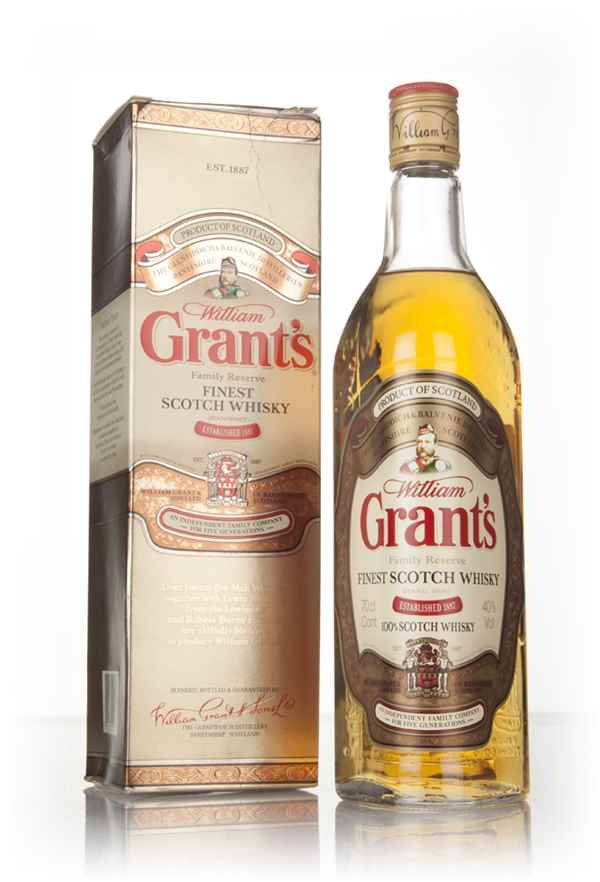 Grant's Special Family Reserve Finest (Boxed) - 1990s