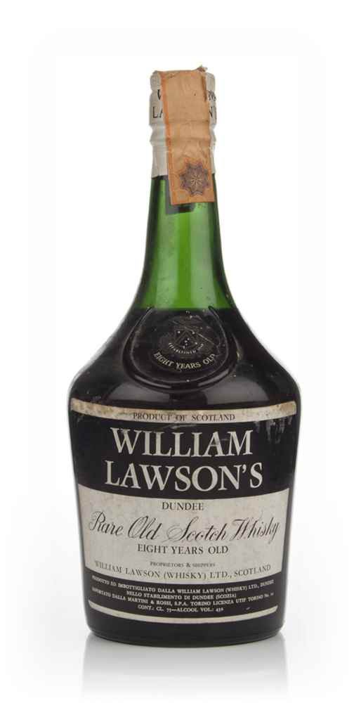 William Lawson's Rare 8 Year Old (43%) - 1970s