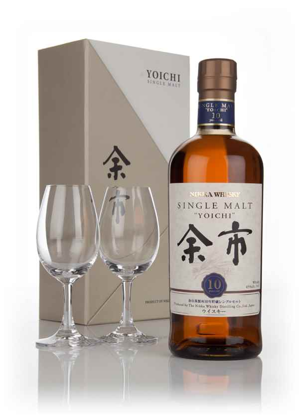 Yoichi 10 Year Old Gift Pack with 2x Glasses