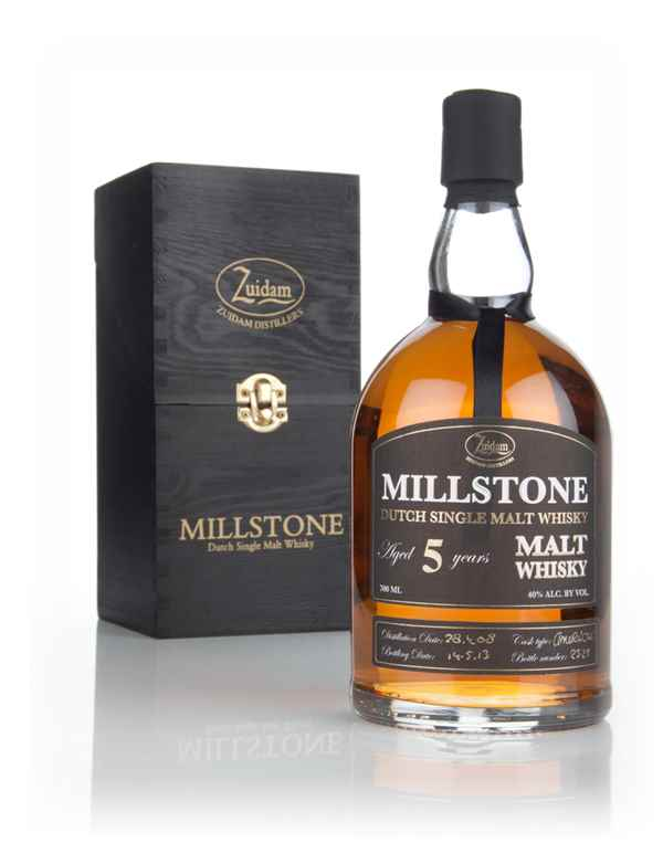 Millstone 5 Year Old Dutch Single Malt Whisky