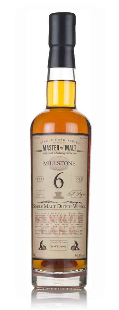 Millstone 6 Year Old 2010 (cask 2638) - Single Cask (Master of Malt)