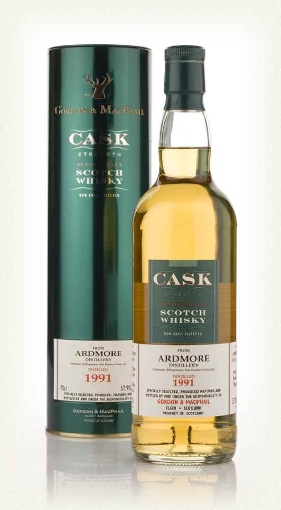 Ardmore 1991 - Cask Strength (Gordon and MacPhail)