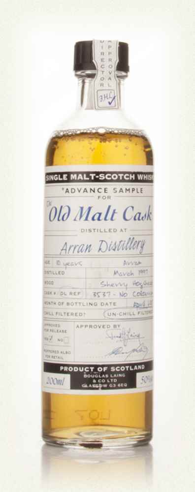 Arran 10 Year Old 1997 - Old Malt Cask Advance Sample (Douglas Laing)