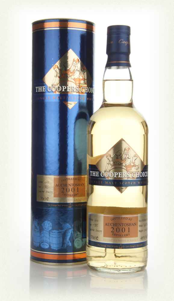 Auchentoshan 9 Years Old 2001 - The Coopers Choice (The Vintage Malt Whisky Co.)