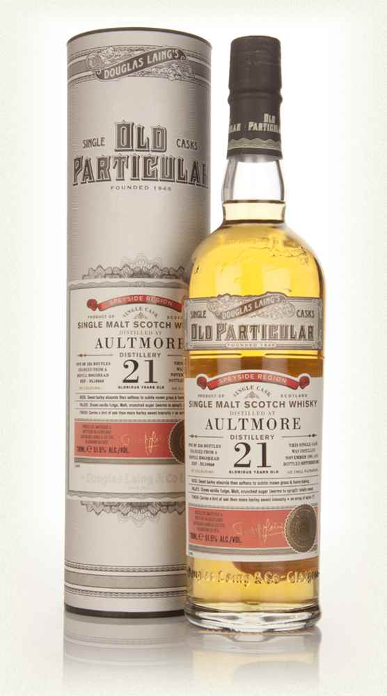 Aultmore  21 Year Old 1991 (cask 10060) - Old Particular (Douglas Laing)