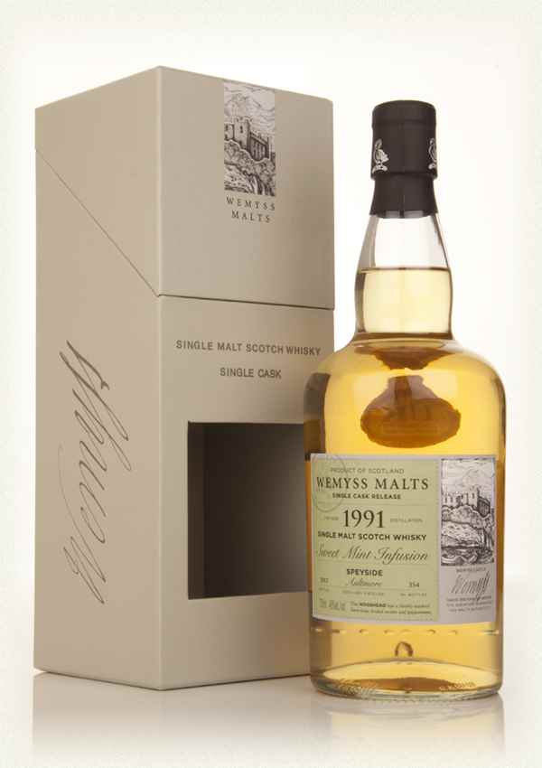 Sweet Mint Infusion 1991 - Wemyss Malts (Aultmore)