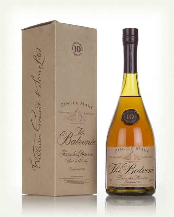 Balvenie Founders Reserve - Cognac Bottle
