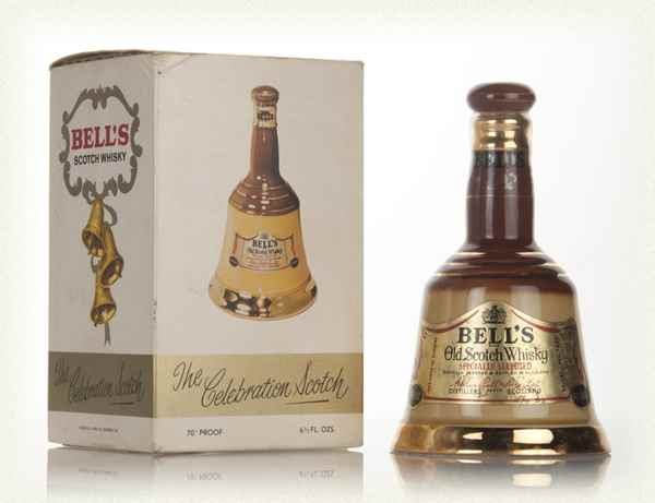 Bell's Blended Scotch Whisky Decanter (18.75cl) - 1970s