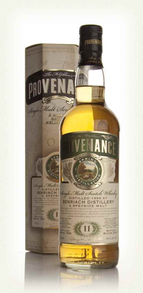 BenRiach 11 Year Old 1998 - Provenance (Douglas Laing)
