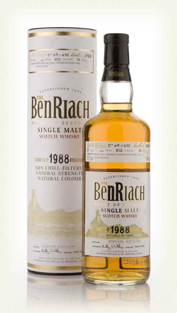 BenRiach 16 Year Old 1988