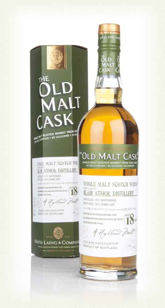 Blair Athol 18 Year Old 1995 (cask 10303) - Old Malt Cask (Hunter Laing)
