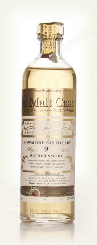 Bowmore 9 Year Old Cigar Malt Advance Sample - Old Malt Cask (Douglas Laing)