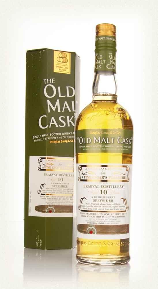 Braeval 10 Year Old Cigar Malt - Old Malt Cask (Douglas Laing)