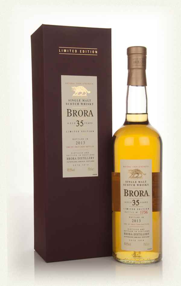 Brora 35 Year Old 1977 (2013 Special Release)