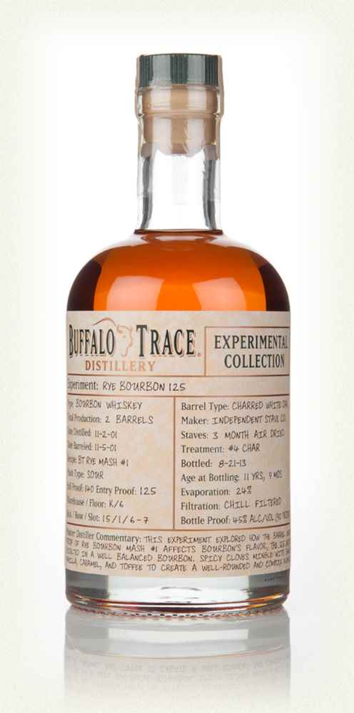 Buffalo Trace Rye Bourbon 125 Experimental Collection (37.5cl)