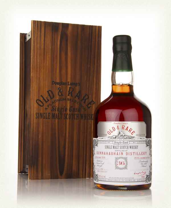 Bunnahabhain 36 Year Old 1974 - Old and Rare Platinum (Douglas Laing)