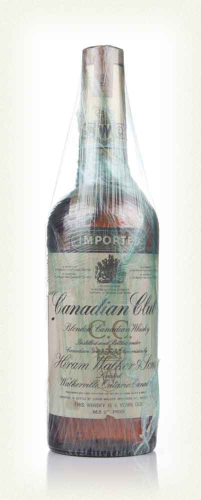 Canadian Club 6 Year Old Whisky - 1960