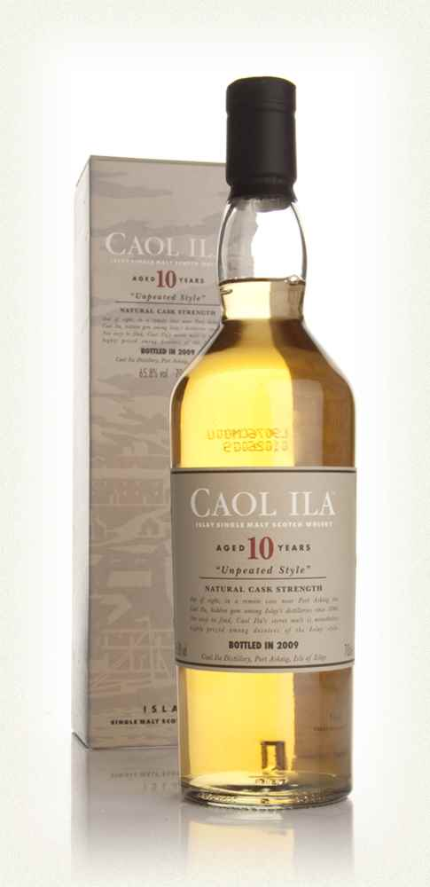 Caol Ila 10 Year Old Unpeated Style (2009 Release)