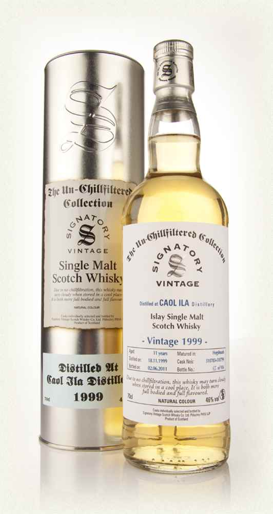 Caol Ila 11 Year Old 1999 - Un-Chillfiltered (Signatory)