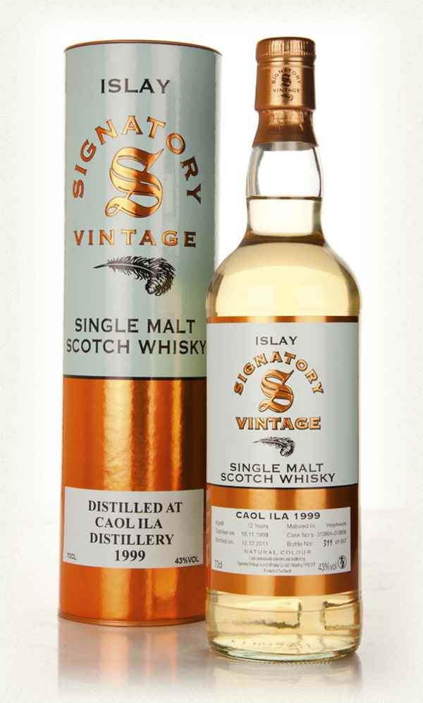 Caol Ila 12 Year Old 1999 Casks 310801 & 310806 (Signatory)