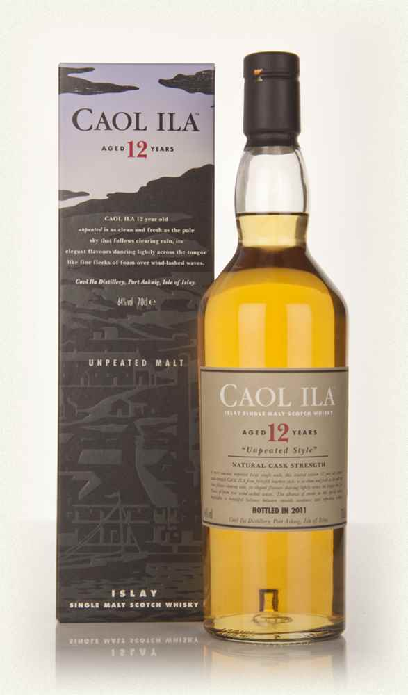Caol Ila 12 Year Old Unpeated (2011 Release)