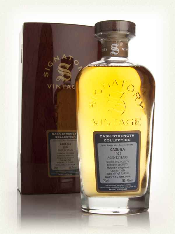 Caol Ila 32 Year Old 1974 - Cask Strength Collection Rare Reserve (Signatory)