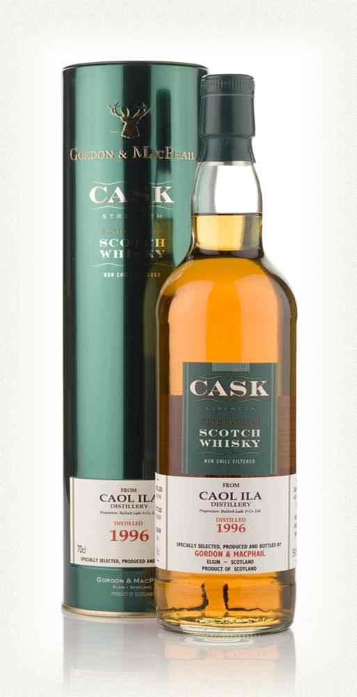 Caol Ila 1996 - Cask Strength (Gordon and MacPhail)