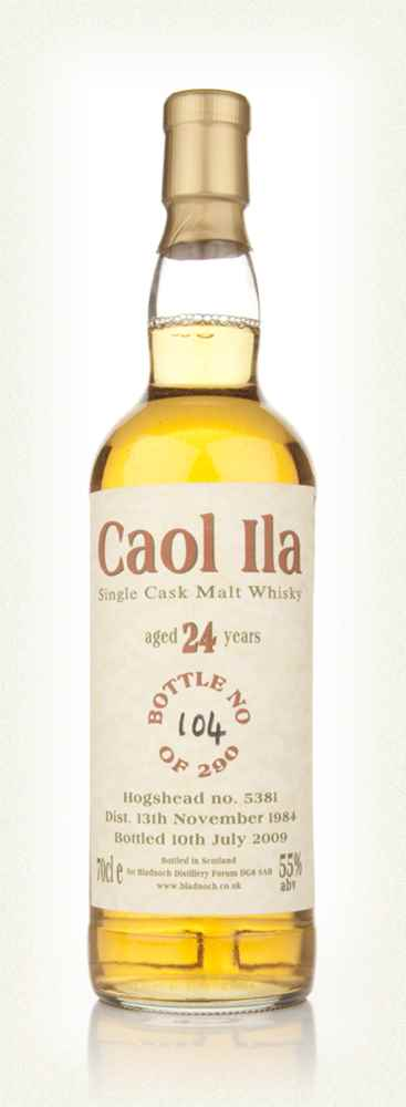 Caol Ila 24 Year Old 1984 (Bladnoch)
