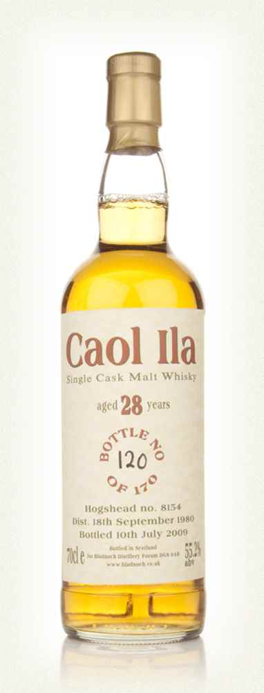 Caol Ila 28 Year Old 1980 (Bladnoch)