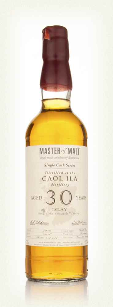 Caol Ila 30 Year Old - Single Cask (Master of Malt)