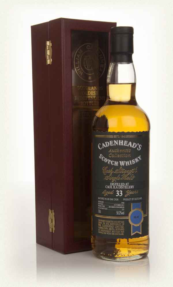 Caol Ila 33 Year Old 1980 - Authentic Collection (WM Cadenhead)