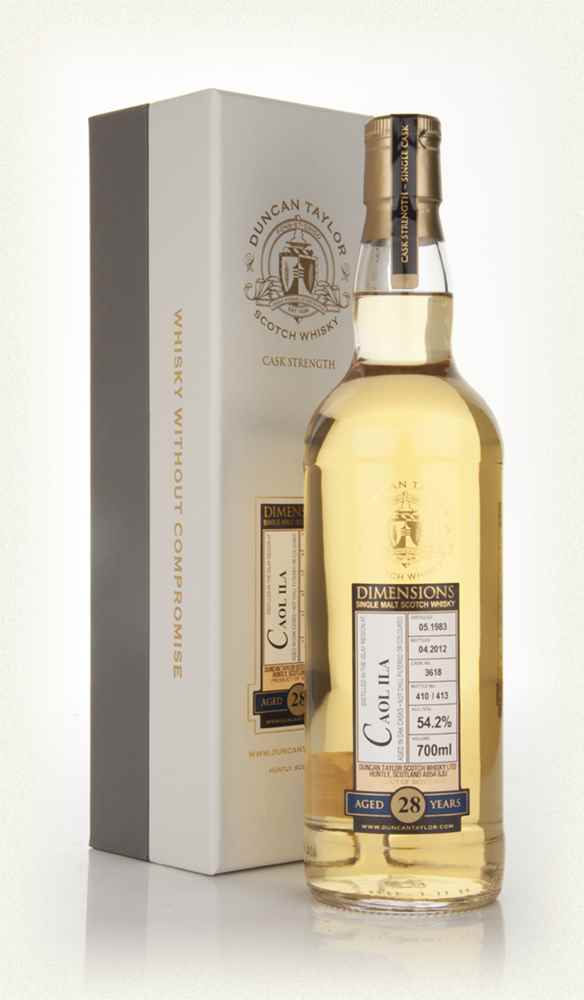 Caol Ila 28 Year Old 1983 - Dimensions (Duncan Taylor)