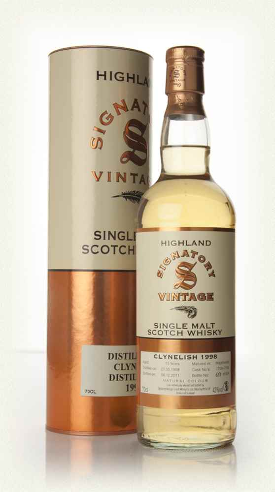 Clynelish 13  Year Old 1998 (Signatory)
