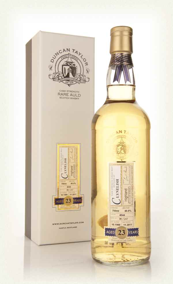 Clynelish 23 Year Old 1988 - Dimensions (Duncan Taylor)