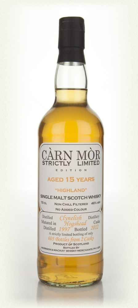Clynelish 15 Year Old 1997 - Strictly Limited (Càrn Mòr)