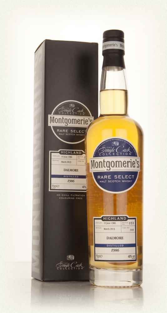Dalmore 26 Year Old 1986 (cask 3101) - Rare Select (Montgomerie's)