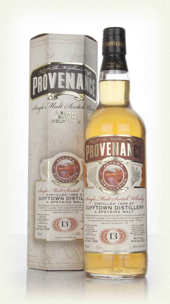 Dufftown 13 Year Old 1999 (cask 9659) - Provenance (Douglas Laing)
