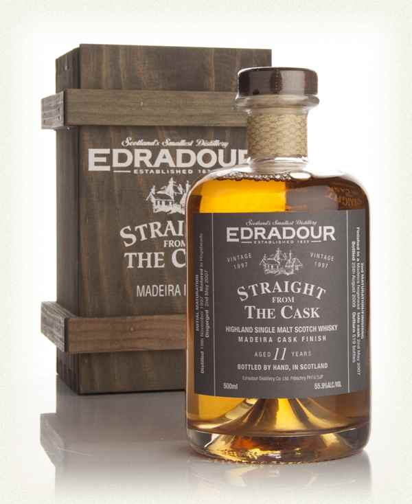 Edradour 11 Year Old 1997 Madeira Cask Finish - Straight from the Cask