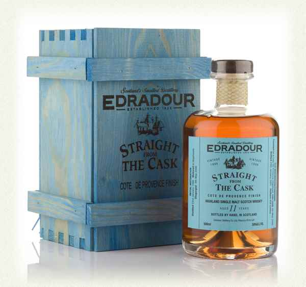 Edradour 11 Year Old 1996 Côtes de Provence Cask Finish - Straight From The Cask
