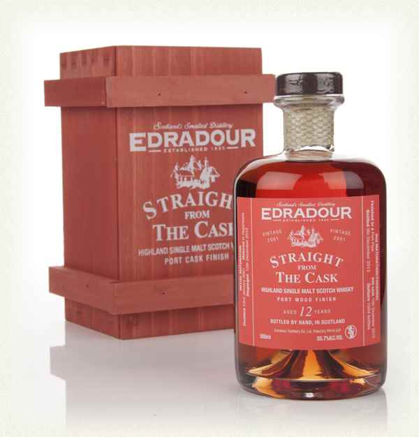 Edradour 12 Year Old 2001 Port Wood Finish - Straight From The Cask 55.7%
