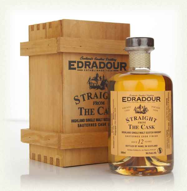 Edradour 12 Year Old 1999 Sauternes Cask Finish - Straight from the Cask