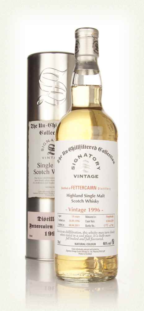 Fettercairn 14 Year Old 1996 - Un-Chillfiltered (Signatory)