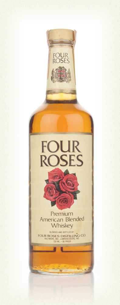 Four Roses American Blended Whiskey - 1985