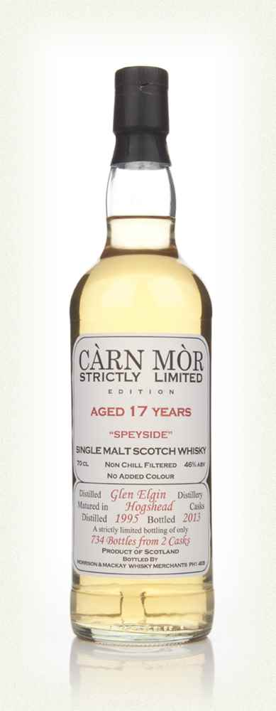 Glen Elgin 17 Year Old 1995 - Strictly Limited (Càrn Mòr)