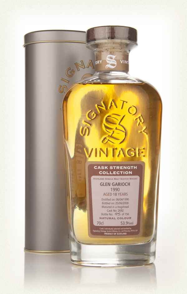 Glen Garioch 18 Year Old 1990 - Cask Strength Collection (Signatory)