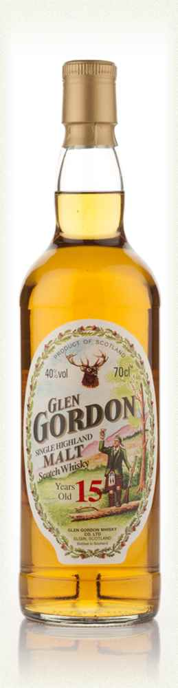 Glen Gordon 15 Year Old (Gordon & MacPhail)