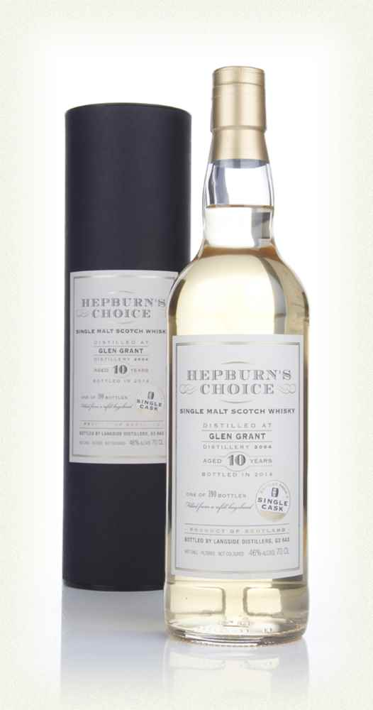 Glen Grant 10 Year Old 2004 - Hepburn's Choice (Langside)