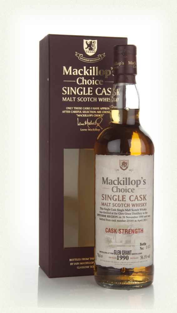 Glen Grant 20 Year Old 1990 (cask 23169) - Mackillop's Choice